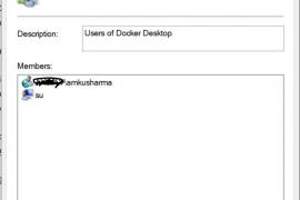 "Hướng dẫn sửa You must be in the ""docker-users"" group"